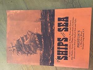 Of Ships & Sea; Preston's Catalog of: Preston's