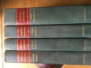 Christian Dogmatics (4 Volume Set 1951-1957): Francis Pieper
