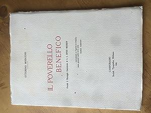 Il Poverello Benefico- Precede il Messaggio francescano di S. E. Benito Mussolini: Ottorino Modugno