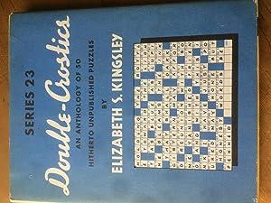 Double-Crostics Series 23: Elizabeth S. Kingsle