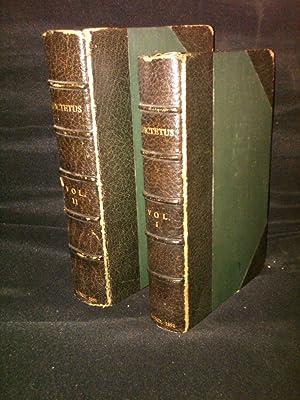 The Discourses of Epictetus with the Encheiridion and Fragments , Vol I & II: Epictetus