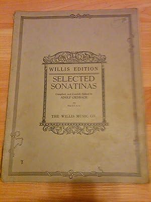 Selected Sonatinas (Cincinnati Conservatory Collection): Adolf Giesbach