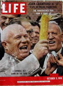 Life Magazine October 5, 1959 -- Cover: Khrushchev in Iowa