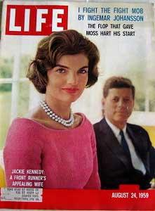 Life Magazine August 24, 1959 -- Cover: Jackie Kennedy, A Front Runner's Appealing Wife
