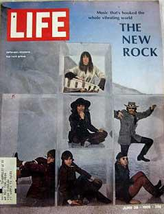 Life Magazine June 28, 1968 - Cover: Jefferson Airplane