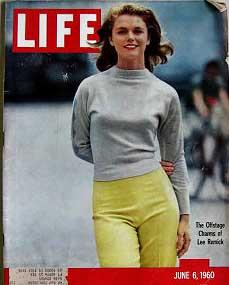 Life Magazine June 6, 1960 -- Cover: Lee Remick