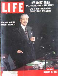 Life Magazine January 21, 1957 -- Cover: