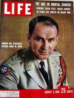 Life Magazine August 4, 1958 -- Cover: General James M. Gavin