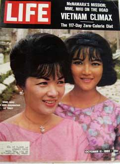 Life Magazine October 11, 1963 -- Cover: Mme. Nhu and Her Daughter Le Thuy