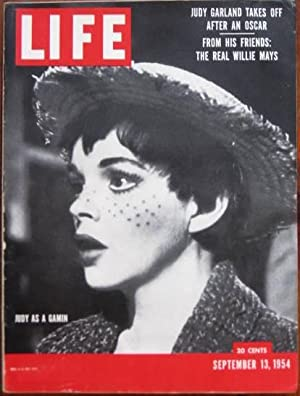 Life Magazine September 13, 1954 - Cover: Judy Garland