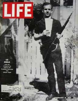 Life Magazine February 21, 1964 -- Cover: Lee Harvey Oswald with Weapons