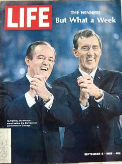 Life Magazine September 6, 1968 -- Cover: