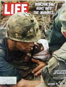 Life Magazine October 28, 1966 -- Cover: Vietnam's DMZ