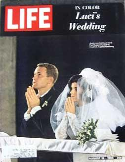 Life Magazine August 19, 1966 -- Cover: Luci's Wedding