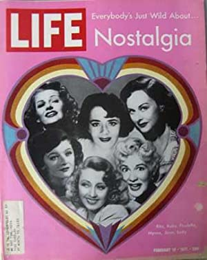 Life Magazine February 19, 1971 -- Cover: Nostalgia