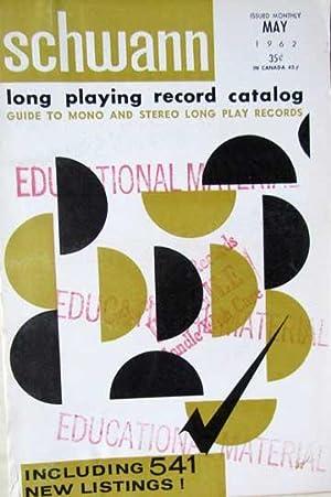 Schwann Long Playing Record Catalog - May: Schwann, William