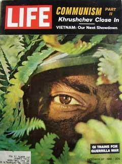 Life Magazine October 27, 1961 -- Cover: GI Trains for Guerrilla War
