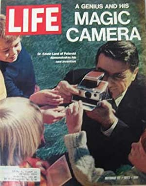 Life Magazine October 27, 1972 -- Cover: Dr. Edwin Land of Polaroid