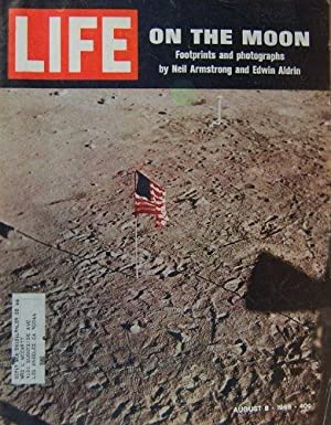 Life Magazine August 8, 1969 -- Cover: On the Moon