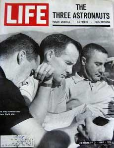 Life Magazine February 3, 1967 -- Cover: The Three Astronauts