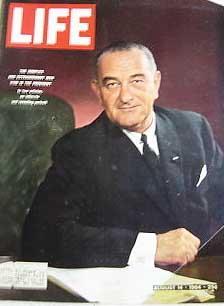 Life Magazine August 14, 1964 -- Cover: Lyndon Johnson