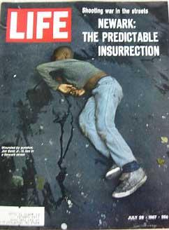Life Magazine July 28, 1967 -- Cover: Newark Shooting Victim Joe Bass Jr.