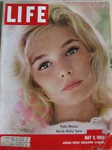 Life Magazine May 9, 1960 -- Cover: Yvette Mimieux: Warmly Wistful Starlet