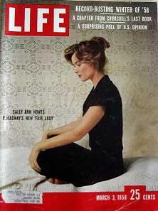 Life Magazine March 3, 1958 -- Cover: Sally Ann Howes