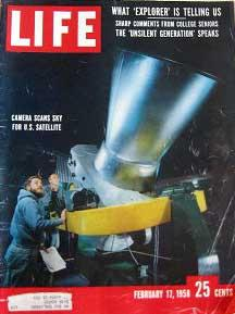 Life Magazine February 17, 1958 -- Cover:
