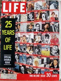 Life Magazine December 26, 1960 -- Cover: 25 Years of Life
