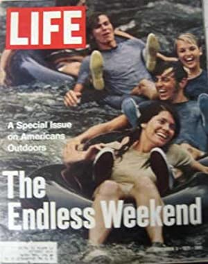 Life Magazine September 3, 1971 -- Cover: The Endless Weekend