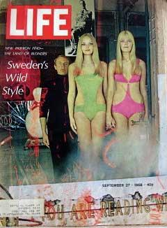Life Magazine September 27, 1968 -- Cover: