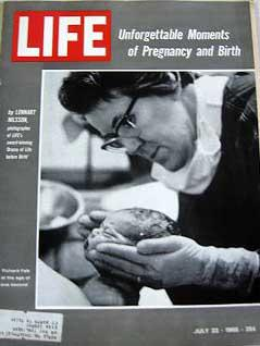 Life Magazine July 22, 1966 -- Cover: Moments of Pregnancy and Birth