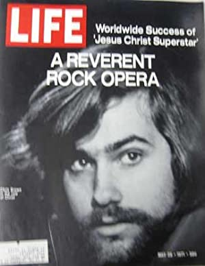 Life Magazine May 28, 1971 -- Chris Brown in 'Jesus Christ Superstar'