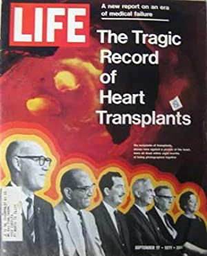 Life Magazine September 17, 1971 - The Tragic Record of Heart Transplants
