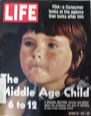 Shop life magazines collections art collectibles abebooks life magazine october 20 1972 cover the middle age child 6 sciox Choice Image