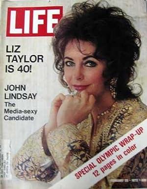 Life Magazine February 25, 1972 -- Cover: Elizabeth Taylor