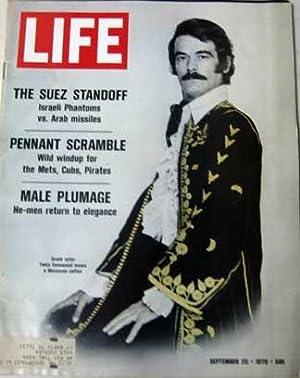 Life Magazine September 25, 1970 -- Greek