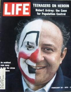 Life Magazine February 20, 1970 -- Cover: Clown College Student