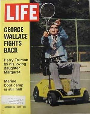 Life Magazine November 24, 1972 -- Cover: