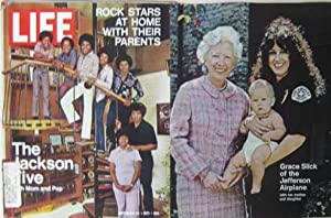 Life Magazine September 24,1971 - Cover: The Jackson Five/Grace Slick