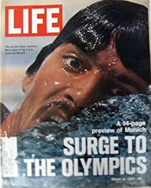 Shop life magazines collections art collectibles abebooks life magazine august 18 1972 cover mark spitz sciox Choice Image