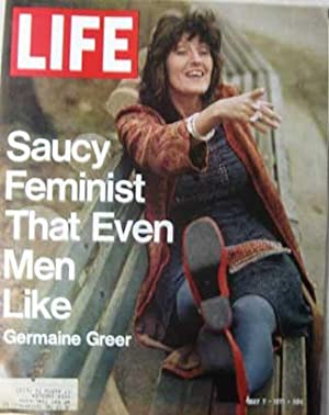 Life Magazine May 7, 1971 -- Cover: Germaine Greer