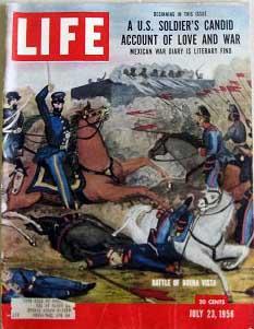 Life Magazine July 23, 1956 -- Cover: Battle of Buena Vista