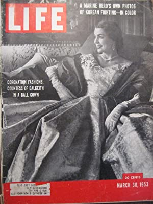 Life Magazine March 30, 1953 -- Cover: Countess of Dalkeith