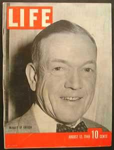 Life Magazine August 12, 1940 - Cover: McNary of Oregon