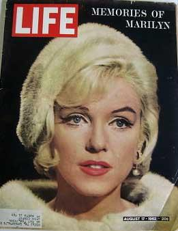 Life Magazine August 17, 1962 - Cover: Marilyn Monroe