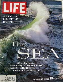 Life Magazine December 21, 1962 -- Cover: The Sea
