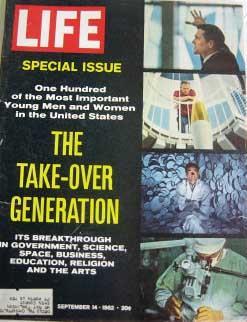 Life Magazine September 14, 1962 -- Cover: