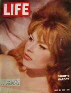 Life Magazine July 28, 1961 -- Cover: Brigitte Bardot